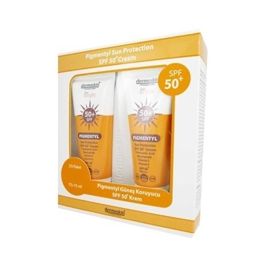 Dermoskin  Be Bright Pigmently SPF50+ Cream 2x75ml Set Renksiz